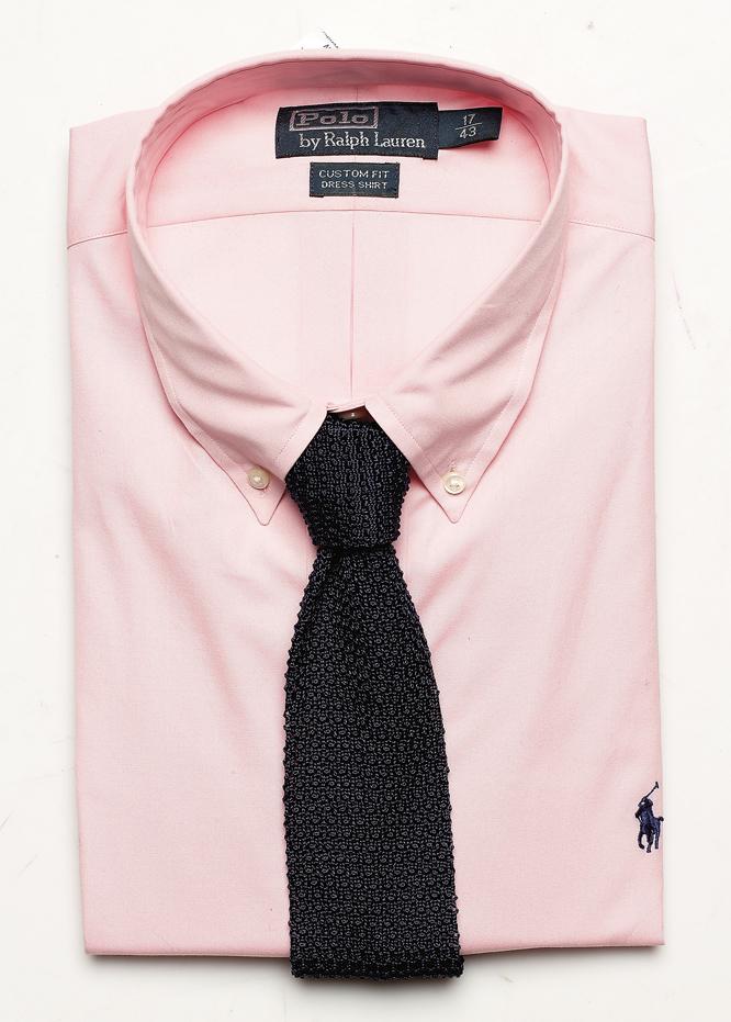 koszula, Polo by Ralph Lauren, bawełna , rozmiary: 38-45, 399 zł, BUTTON DOWN krawat, Emmanuel Berg, jedwab, 299 zł