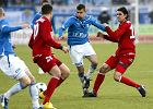 22. kolejka. Odra - Lech 0:0. Bandrowski i Bueno
