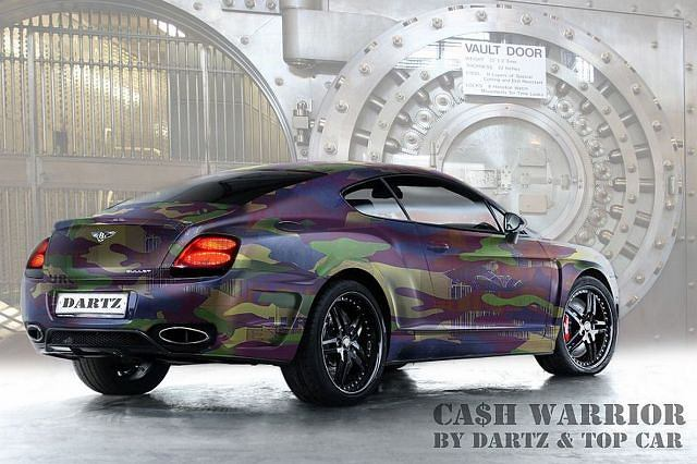 Dartz CA$H.CAMO Bentley Continental GT