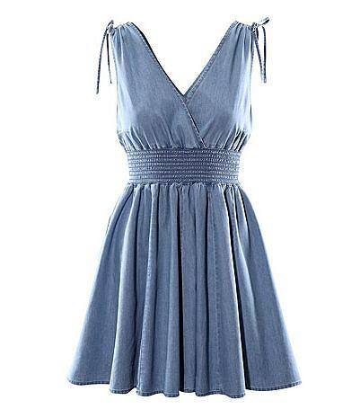 62b5538134 Dżinsowa sukienka HM