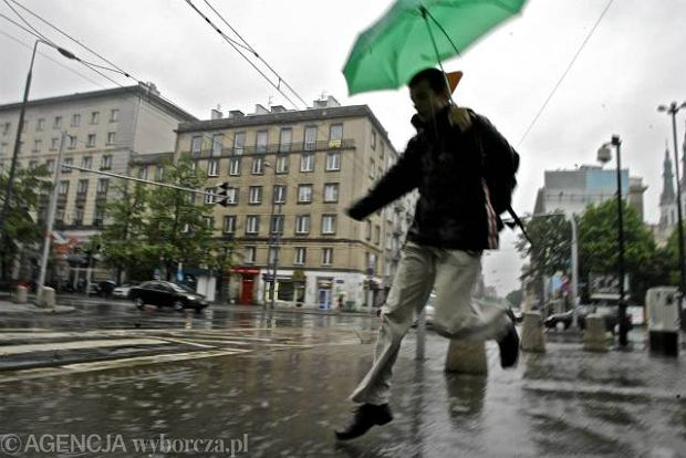 W nadchodz�cym tygodniu b�dzie deszczowo i pochmurnie