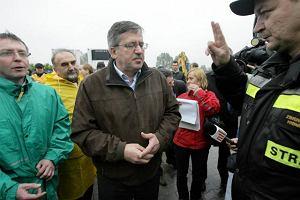Komorowski: Ludzie s� ju� oswojeni, obyci z �ywio�em