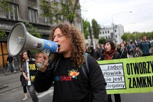 Warszawa. Marsz upami�tniaj�cy �mier� Nigeryjczyka
