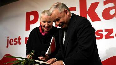 Jadwiga Staniszkis i Jarosław Kaczyński