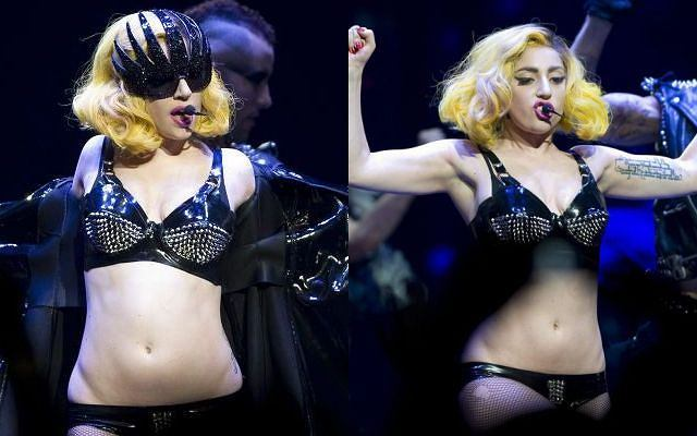 Wielkie show w Montrealu! Lady GaGa rzuciła Kanadę na kolana. Darła na sobie szaty aż została w samej bieliźnie.