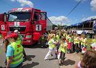 Ciężarówki zagrożeniem dla dzieci