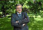 Pierwszy wywiad z prezydentem elektem: Krzyż spod Pałacu Prezydenckiego zostanie przeniesiony