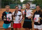 Dwa medale radomskich tenisistek w mistrzostwach kadetek