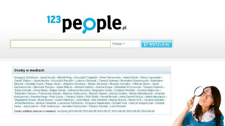 123people - wyszukiwarka ludzi