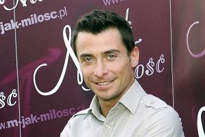 Kacper Kuszewski pojawił się na zlocie fanów M jak Miłość w Gdyni.