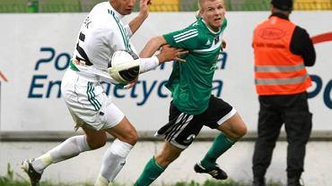 5. kolejka. GKS - Lechia 1:0. Dawid Nowak