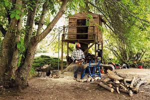 Drewno do kominka - rąbanie, piłowanie i suszenie