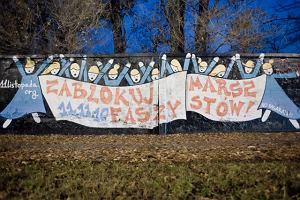 """""""Zablokuj marsz faszyst�w!"""". Takiej akcji jeszcze w Warszawie nie by�o"""