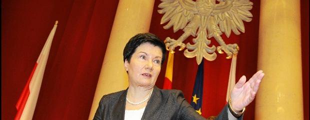 Gronkiewicz-Waltz prosi Błaszczaka o pomoc w walce z przestępstwami. A ten na to: Przecież to szkalowanie Polski!