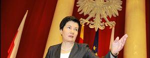 Gronkiewicz-Waltz prosi B�aszczaka o pomoc w walce z przest�pstwami. A ten na to: Przecie� to szkalowanie Polski!