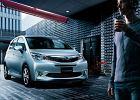 Toyota z emblematem Subaru