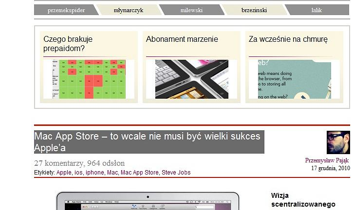 Zdjęcie przedstawia artykuł Mac App Store - to wcale nie musi być wielki sukces Apple'a w serwisie Spiders Web.