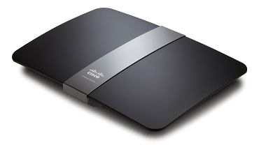 Router domowy Linksys E4200.
