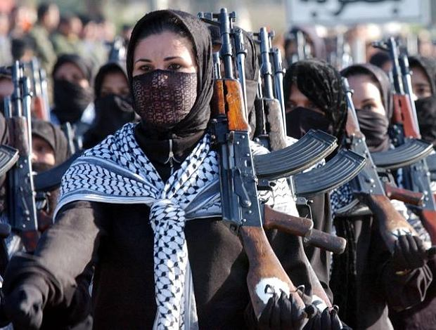 Iraqi women army