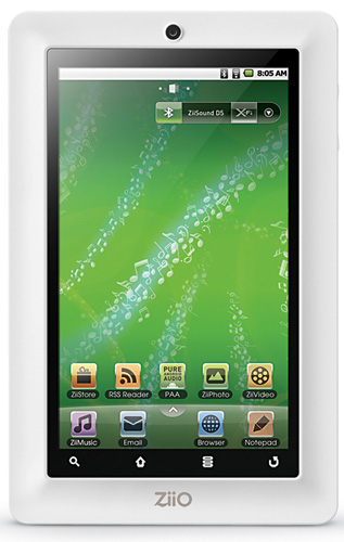 tablet, galaxy tab, ipad, Creative ZiiO