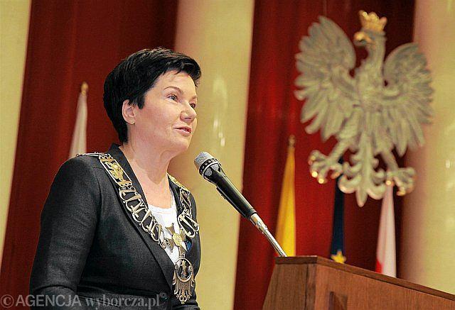 To nie byłaby nowa jakość i zysk dla PO - mówi o ewentualnych transferach polityków PJN do rządzącej Platformy Hanna Gronkiewicz-Waltz
