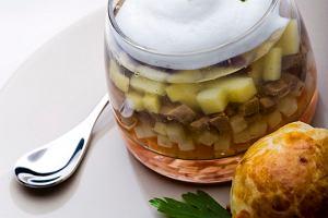 Zupa ogonowa z ma�lan� bu�eczk�