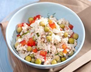 Tuńczyk z ryżem i papryką