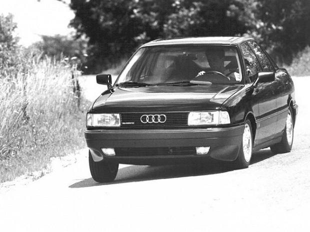 Audi 80 B3/B4 górą