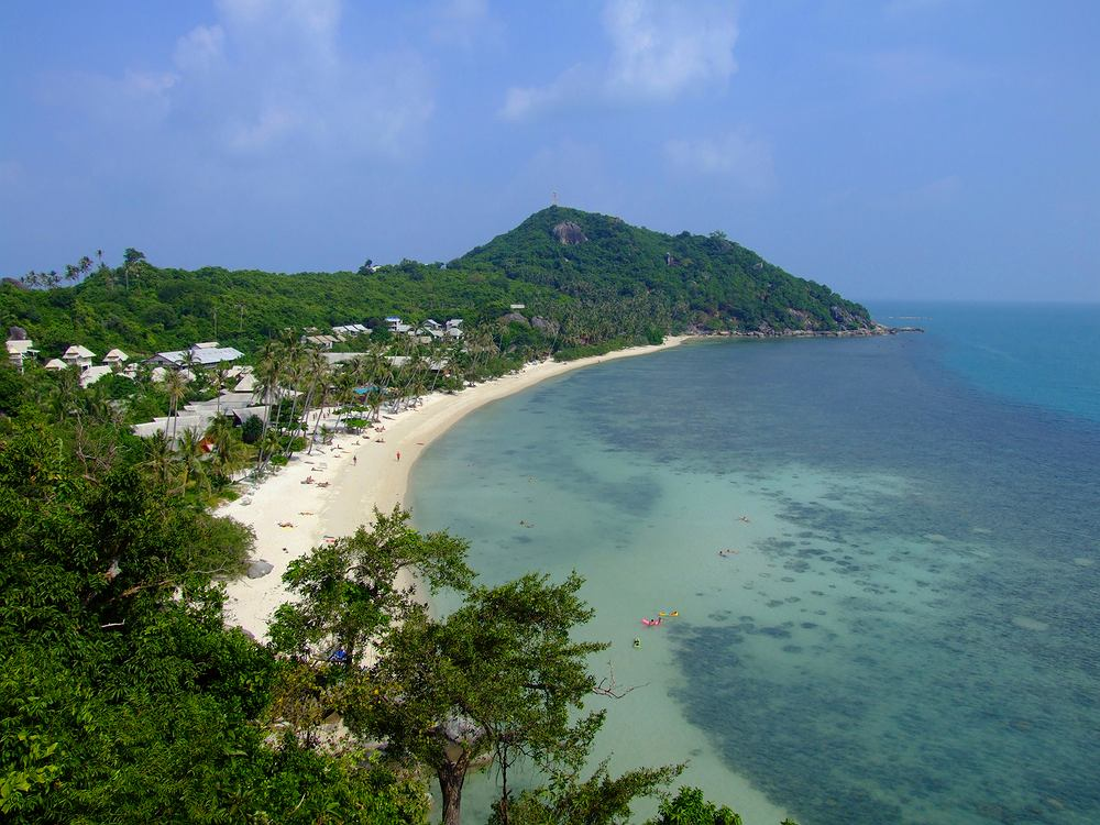 plaża Ko Phangan, Tajlandia
