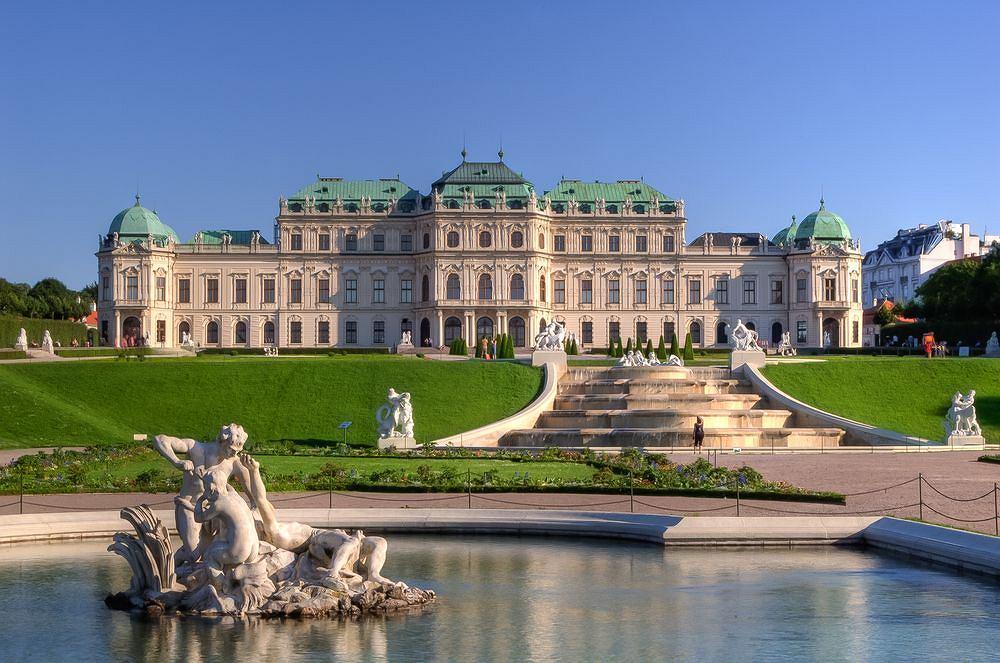 Wiedeński Belweder i Ogród Botaniczny