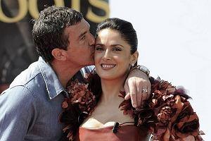 Antonio Banderas i Salma Hayek - Cannes 2011