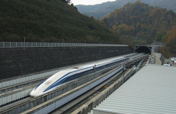 581 km/h: Najszybszy pociąg magnetyczny