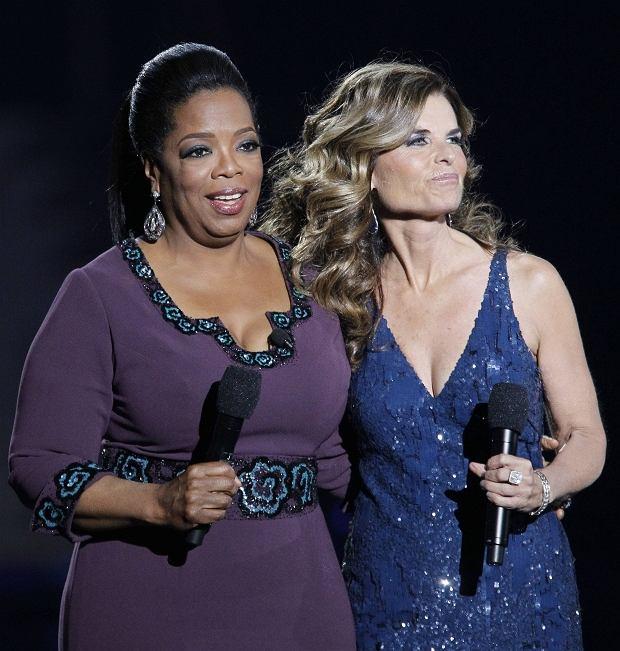 Oprah Winfrey i Maria Shriver