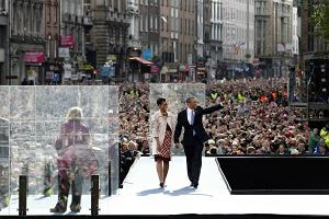 Obama ściśle tajny. Nie wiemy nawet gdzie zamkną ulice