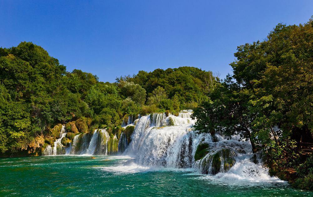 Chorwacja galeria, Chorwacja wycieczki - Wodospad Krka, Chorwacja