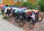 Rowery wyposażone w sakwy