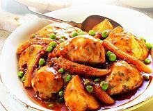 Cudna zapiekanka z warzyw i nóżek kurczaka - ugotuj