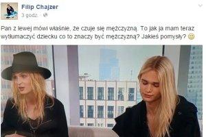 Być mężczyzną - Filip Chajzer nie wie, jak to wytłumaczyć dziecku