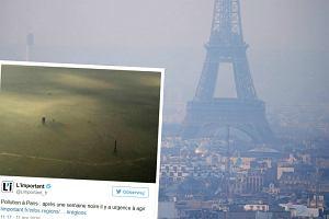 Stolica Francji tonie w smogu. W Paryżu tak źle nie było od dekady