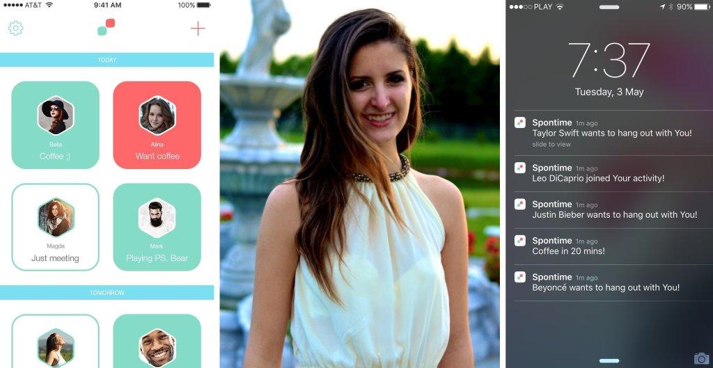 Aplikacja i jej pomysłodawczyni, Karolina Demiańczuk (fot. materiały prasowe)