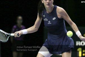 """WTA Finals. Radwa�ska - Muguruza w p�finale. """"Wielki talent. Zwyci�stwo Radwa�skiej by�oby niespodziank�"""""""