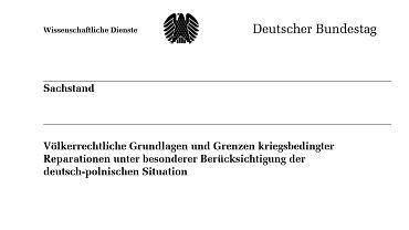 Kopia jednej ze stron analizy zamówionej przez bawarskiej CSU Johannesa Singhammera