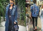 Jeans total look według Małgorzaty Rozenek-Majdan