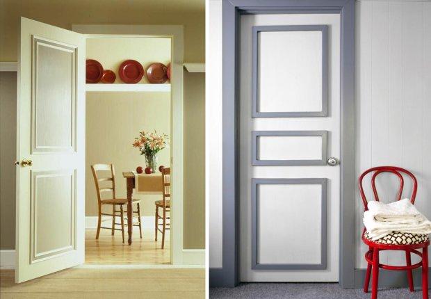 Drzwi z listewkami