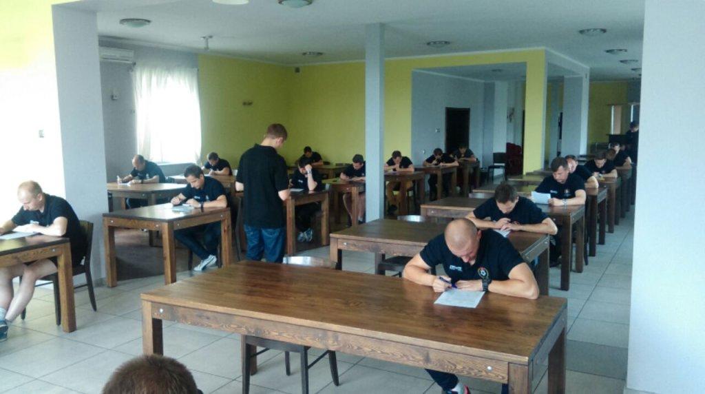 Obóz łódzkich sędziów połączony z egzaminami pisemnymi i kondycyjnymi