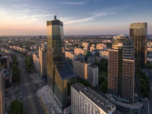 Warszawa Ma Nowy Wiezowiec Q22 Oddany Do Uzytku Zdjecia