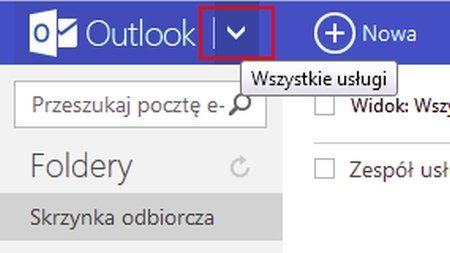 Kontakty w Outlooku
