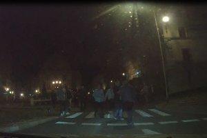 B�jka w �widnicy. �wi�teczna bijatyka na ulicach miasta [FILM]