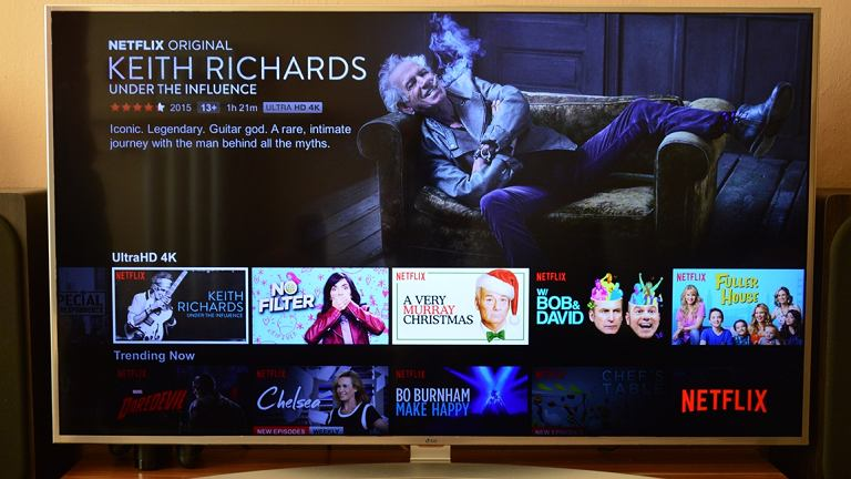 Netflix na telewizore LG UH7707