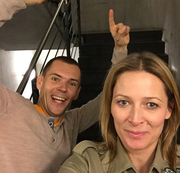 Odeta Moro i Piotr Łobodziński w programie 'Morowy Weekend'